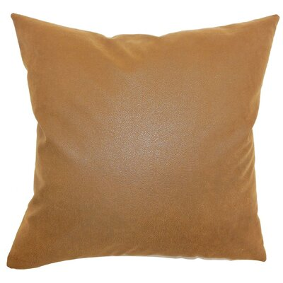 Neale Plain Throw Pillow Size: 22 x 22