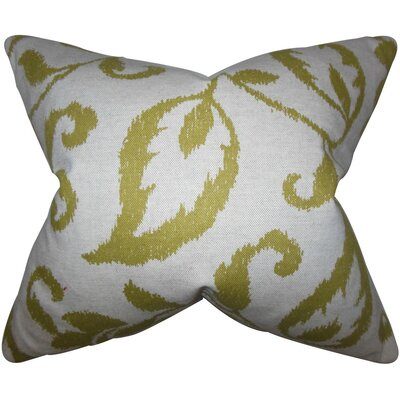 Hollis Foliage Throw Pillow Size: 18 x 18