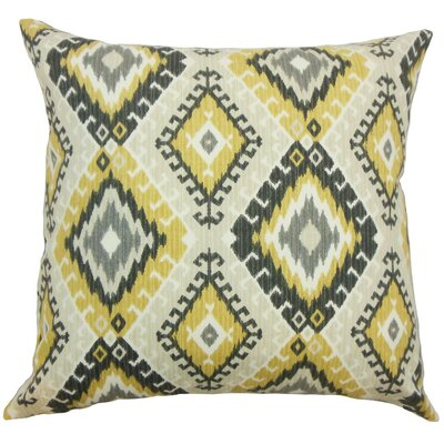 Brinsmead Geometric Cotton Throw Pillow Size: 22 x 22