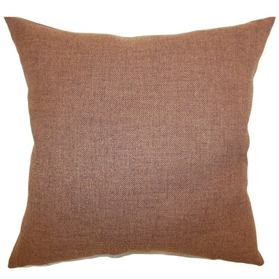 Thaliard Solid Cotton Throw Pillow Cover