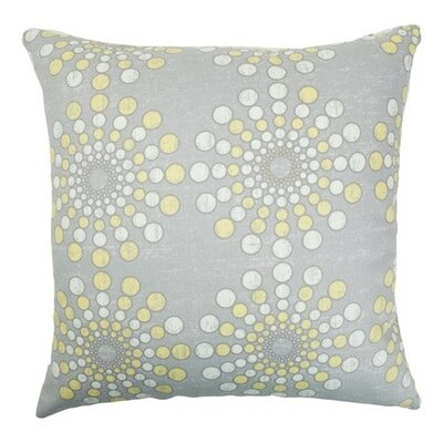 Laidley Dot Cotton Throw Pillow Size: 18 x 18