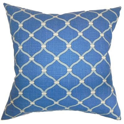 Hamar Geometric Cotton Throw Pillow Cover