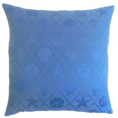 Naeva Outdoor Throw Pillow Cover Color: Royal