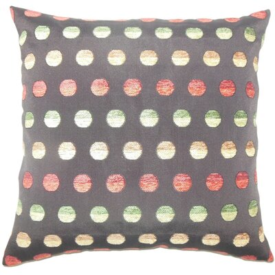 Vlora Polka Dots Throw Pillow Cover Color: Multi