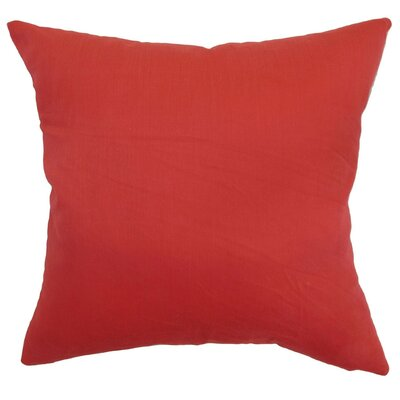 Calvi Cotton Throw Pillow Size: 22 x 22