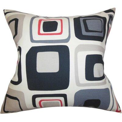 Maaza Geometric Silk Throw Pillow Cover