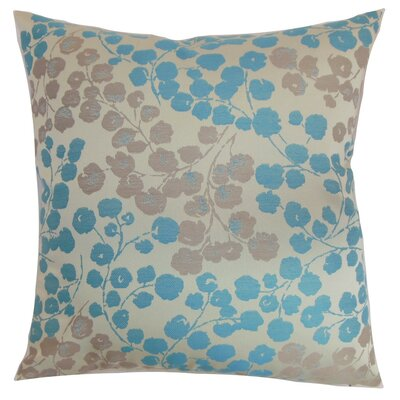 Reynosa Floral Throw Pillow Cover Color: Blue Haze