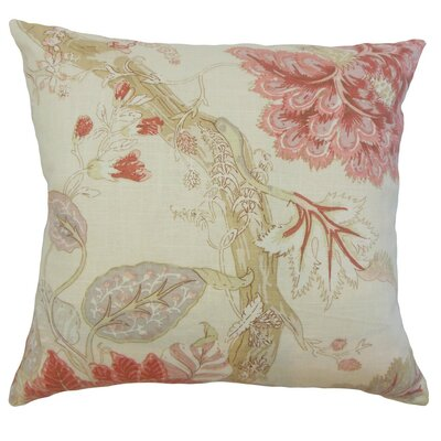 Kende Floral Throw Pillow Size: 18 x 18