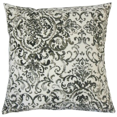 Serissa Damask Cotton Throw Pillow Size: 24 x 24