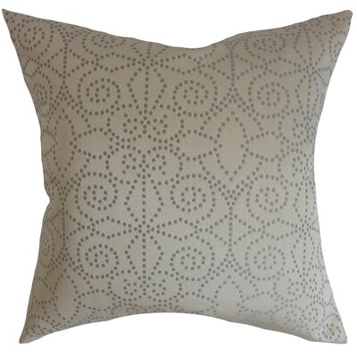 Arum Geometric Cotton Throw Pillow Cover