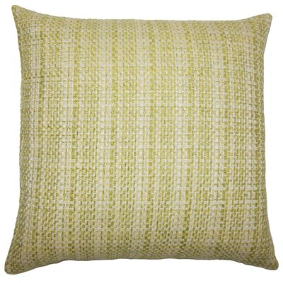 Xorn Plaid Throw Pillow Cover Color: Leaf