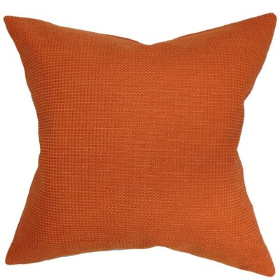 Gumamela Solid Throw Pillow Cover