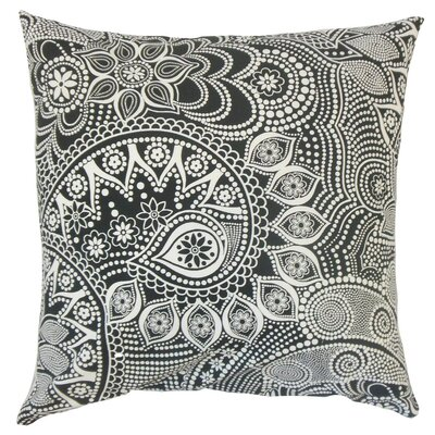 Qacha Geometric Cotton Throw Pillow Size: 24 x 24