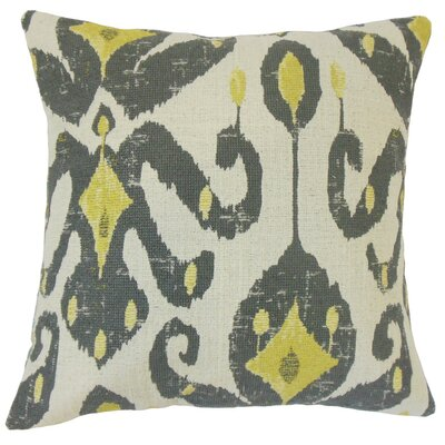 Veradisia Ikat Cotton Throw Pillow Cover