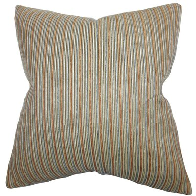 Bogdan Stripes Cotton Throw Pillow Cover