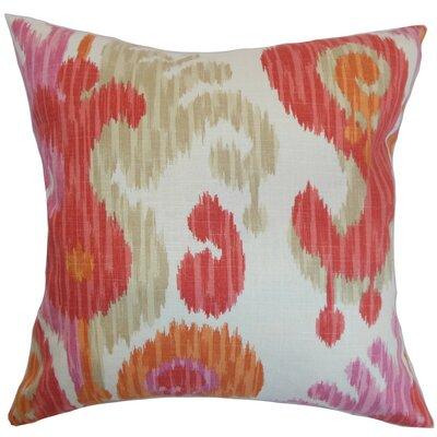 Xinguara Cotton Throw Pillow Size: 22 x 22