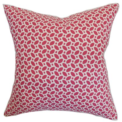 Zlin Geometric Cotton Throw Pillow Cover