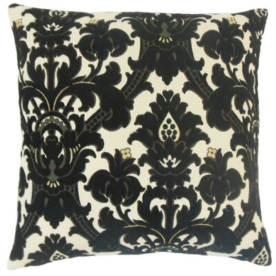Beonica Damask Cotton Throw Pillow Cover