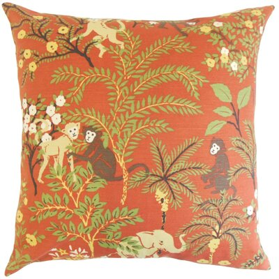 Fiametta Foliage Throw Pillow Cover Color: Spice