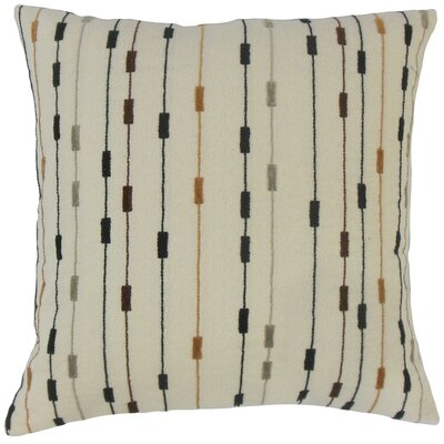Wanbli Stripes Throw Pillow Size: 18 x 18