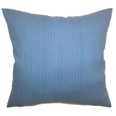 Nessia Solid Cotton Throw Pillow Size: 24 x 24