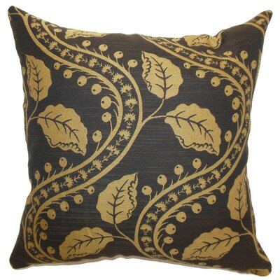 Uzma Floral Cotton Throw Pillow Size: 18 x 18