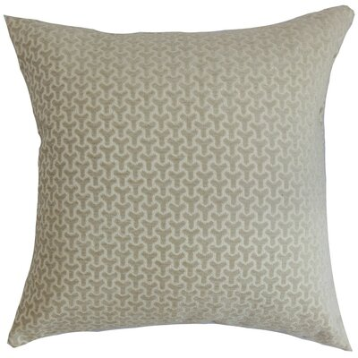 Cinquefoil Cotton Throw Pillow Size: 18