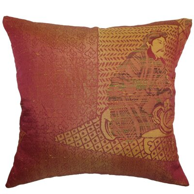 Harb Traditional Throw Pillow Size: 24