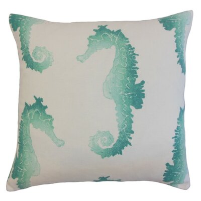 Xenos Outdoor Throw Pillow Cover Color: Turquoise