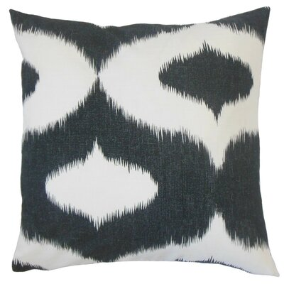 Himani Ikat Cotton Throw Pillow Size: 24 x 24