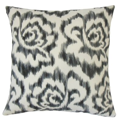 Lidewij Ikat Cotton Throw Pillow Size: 18 x 18