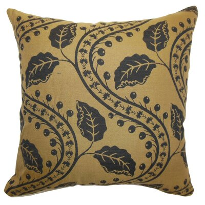 Velma Floral Cotton Throw Pillow Size: 22 x 22