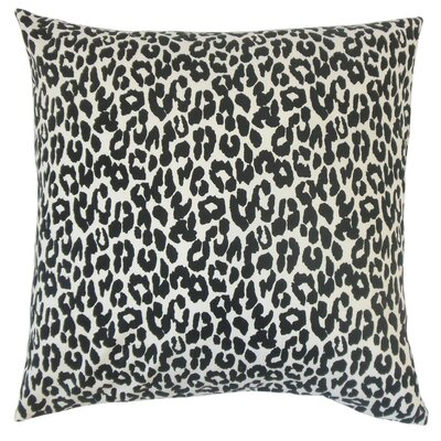Olesia Animal Print Cotton Throw Pillow Cover