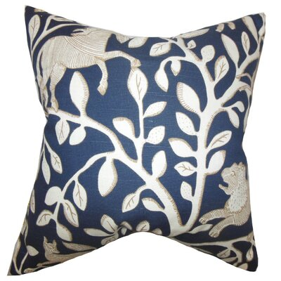 Jorja Foliage Throw Pillow Size: 18 x 18