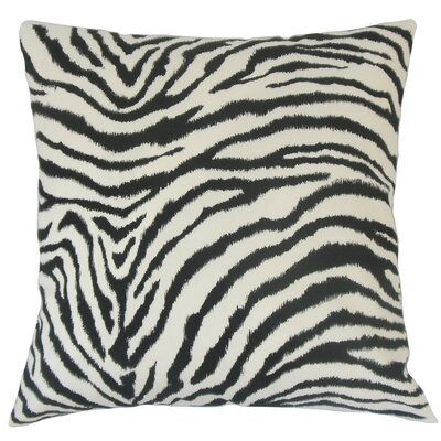 Wassameh Animal Print Cotton Throw Pillow Cover