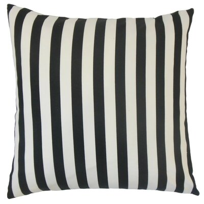 Tameron Stripes Cotton Throw Pillow Cover