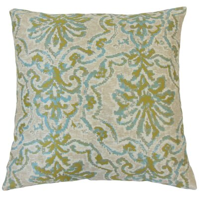 Uheri Damask Throw Pillow Size: 18 x 18