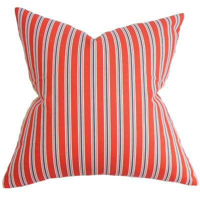 Nouvel Stripe Cotton Throw Pillow Cover