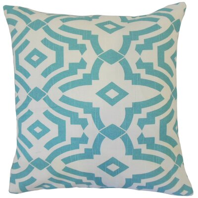 Zephne Cotton Throw Pillow Size: 18 x 18