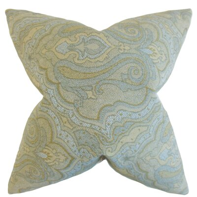Wystan Damask Throw Pillow Cover Color: Mineral