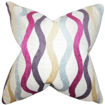 Narain Striped Throw Pillow Size: 22 x 22