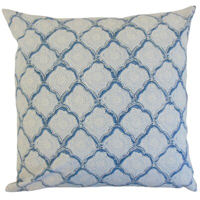 Padma Geometric Throw Pillow Cover Color: Sky