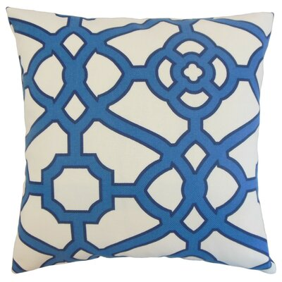 Faina Outdoor Throw Pillow Size: 18 x 18