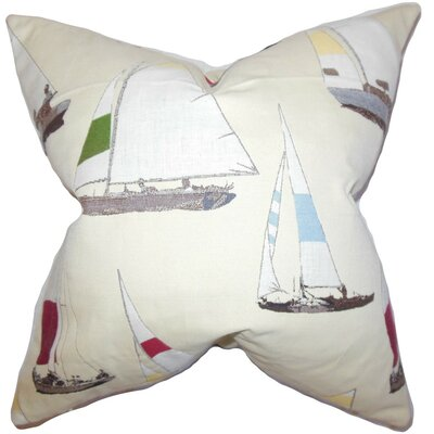Sami Coastal Throw Pillow Size: 24 x 24