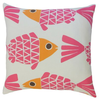 Valmai Graphic Outdoor Throw Pillow Cover