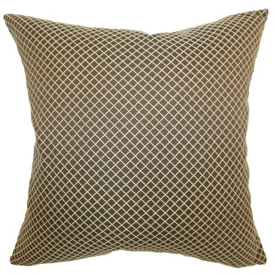 Zenobe Diamond Throw Pillow Size: 24 x 24