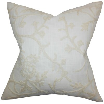 Marely Snowflakes Cotton Throw Pillow Size: 18 x 18