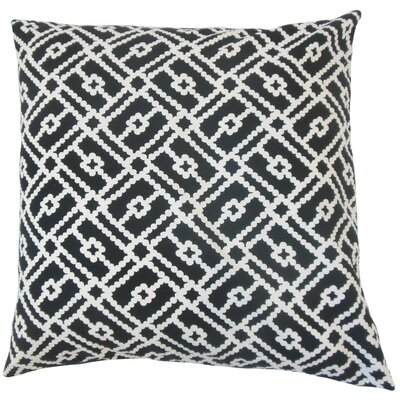 Sileny Geometric Cotton Throw Pillow Size: 24 x 24
