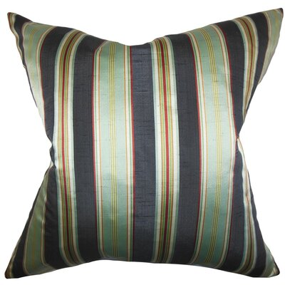 Ofira Stripes Throw Pillow Size: 18 x 18