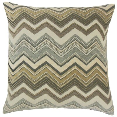 Saroja Zigzag Throw Pillow Size: 18 x 18